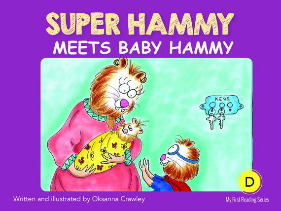 D2=Super Hammy Meets Baby Hammy