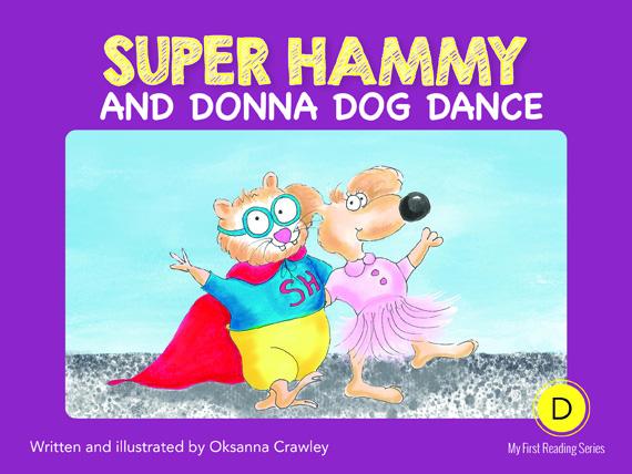 D4=Super Hammy and Donna Dog Dance