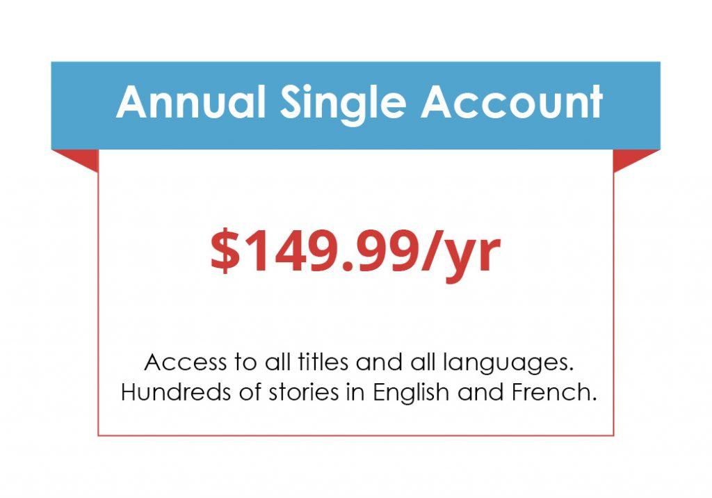 Annual Single Account